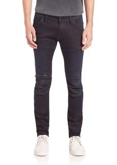 G Star Raw Denim 5620 3D Zip Knee Slim Fit Jeans