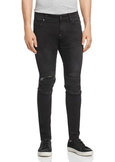 G Star Raw Denim G-STAR RAW 5620 3D Zip-Knee Skinny Fit Jeans in New Dark Aged