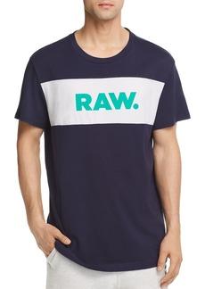 G Star Raw Denim G-STAR RAW Bellar Logo Crewneck Tee