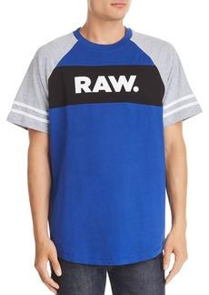 G Star Raw Denim G-STAR RAW Betal Color-Block Raglan Tee