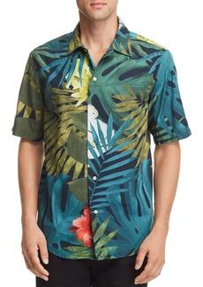 G Star Raw Denim G-STAR RAW Bristum Botanical-Print Regular Fit Utility Shirt
