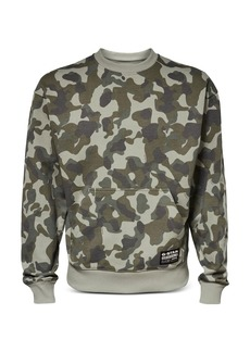 G Star Raw Denim G-STAR RAW Camo Print Sweatshirt