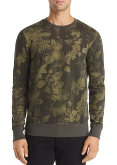 G Star Raw Denim G-STAR RAW Core Leaf-Print Sweatshirt