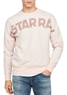 G Star Raw Denim G-STAR RAW Cotton-Blend Logo Sweatshirt