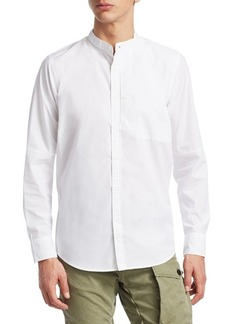 G Star Raw Denim Cotton Button-Down Shirt