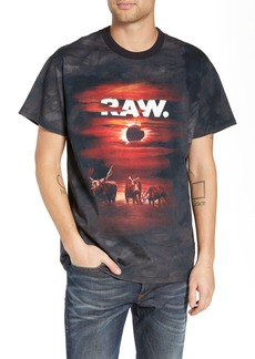 G Star Raw Denim G-Star Raw Cyrer Loose Sunset T-Shirt