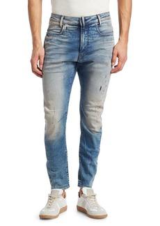 G Star Raw Denim D-Staq 3D Distressed Slim Jeans