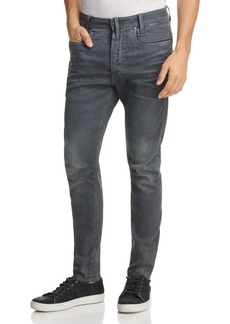 G Star Raw Denim G-STAR RAW D-Staq 3D Super Slim Jeans in Dark Aged Cobbler Blue
