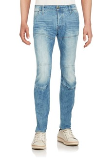 G Star Raw Denim Deconstructed Tapered Jeans