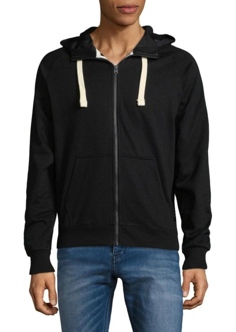 G Star Raw Denim G-Star RAW Full Zip Hooded Sweatshirt
