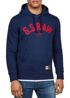 G Star Raw Denim G-STAR RAW Graphic 14 Core Hooded Sweatshirt
