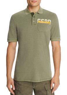 G Star Raw Denim G-STAR RAW Graphic 3 Pocket Regular Fit Polo Shirt