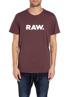 G Star Raw Denim G-Star Raw Holorn Graphic T-Shirt