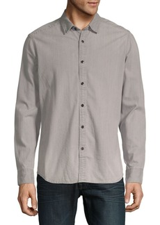 G Star Raw Denim Landoh Clean Cotton Button-Down Shirt