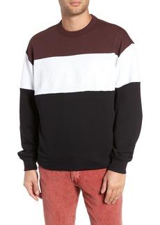 G Star Raw Denim G-Star Raw Libe Core Colorblock Sweatshirt