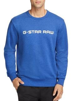 G Star Raw Denim G-STAR RAW Loaq Logo-Print Sweatshirt