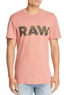 G Star Raw Denim G-STAR RAW Logo Graphic 6 Tee