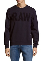G Star Raw Denim G-Star RAW Long-Sleeve Cotton-Blend Pullover