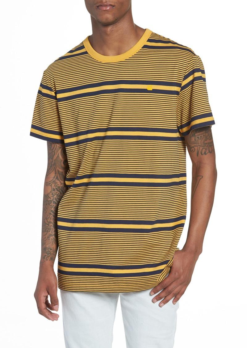 529ecb4d42 G Star Raw Denim G-Star Raw Makauri Stripe 5 T-Shirt