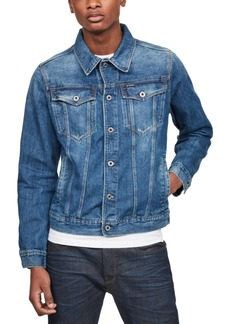 G Star Raw Denim G-Star Raw Men's 3301 Denim Trucker Jacket, Created for Macy's