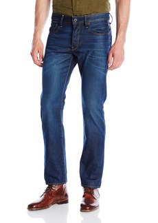 G Star Raw Denim G-Star Raw Men's 3301 Hydrite Denim Straight Leg Jean Dark Aged 29x30