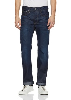 G Star Raw Denim G-Star Raw Men's 3301 Hydrite Denim Straight Leg Jean Dark Aged 33x30