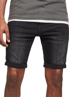 G Star Raw Denim G-Star Raw Men's 3301 Slim-Fit Denim Shorts, Created for Macy's