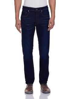 G Star Raw Denim G-Star Raw Men's 3301 Slim Fit Jean In Hydrite Blue Stretch Denim   31x32