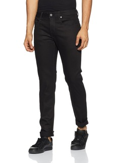 G Star Raw Denim G-Star Raw Men's 3301 Slim-Fit Pant in Black Edington Stretch  30x30