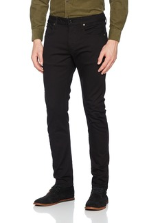 G Star Raw Denim G-Star Raw Men's 3301 Slim Jean in Ita Black Superstretch  32x34