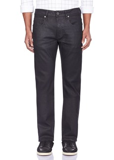 G Star Raw Denim G-Star Raw Men's 3301 Straight Fit Pant in Black Print Stretch Denim  28x32