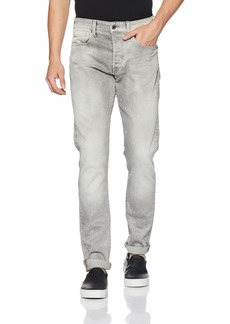 G Star Raw Denim G-Star Raw Men's 3301 Tapered-Fit Jean in Kamden Grey  34x34
