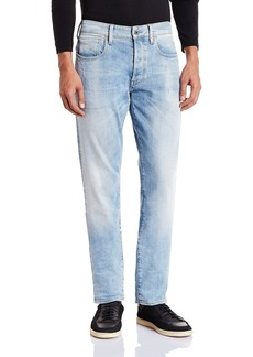 G Star Raw Denim G-Star Raw Men's 3301 Tapered Fit Jean in Nippon Stretch Denim  30x30