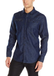 G Star Raw Denim G-Star Raw Men's 3301 US Shirt L/S  Large