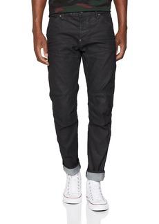 G Star Raw Denim G-Star Raw Men's 5620 3D Slim Jeans in Black Pintt Stretch Denim Dk Aged 34x34