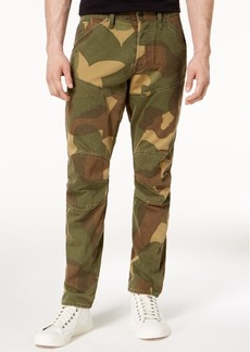 G Star Raw Denim G-Star Raw Men's 5620 3D Tapered-Fit Camouflage Jeans