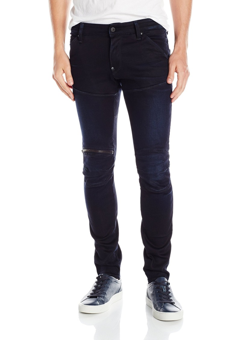 G Star Raw Denim G-Star Raw Men's 5620 3D Zip-Knee Super Slim-Fit Jean  30x32