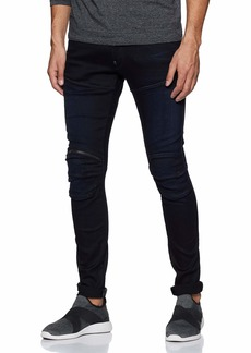 G Star Raw Denim G-Star Raw Men's 5620 3D Zip-Knee Super Slim-Fit Jean  31x32