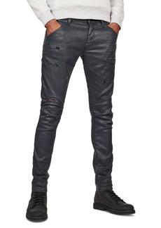 G Star Raw Denim G-Star Raw Men's 5620 Black Skinny Jeans, Created For Macy's