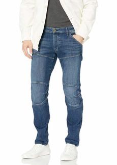 G Star Raw Denim G-Star Raw Men's 5620 Deconstructed 3D Low Tapered Cerro Stretch Jean