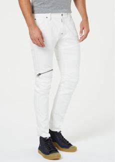 G Star Raw Denim G-Star Raw Men's 5620 Elwood 3D Zip Knee Skinny Jeans