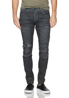 G Star Raw Denim G-Star Raw Men's 5620 Knee Zip Superslim Jeans in Loomer Grey Superstretch  36x34