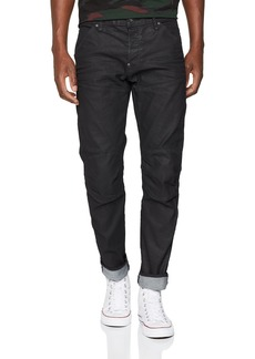 G Star Raw Denim G-Star Raw Men's 5620 Slim Jeans in Black Pintt Stretch Denim 3D Dk Aged 30x30