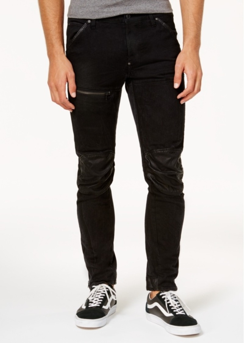 04b799da66f G Star Raw Denim G-Star Raw Men's 5620 Washed Out 3D Slim-Fit Jeans ...