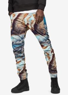 G Star Raw Denim G-Star Raw Men's 5622 3D Elwood Tapered Fit Printed Jeans
