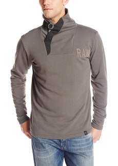 G Star Raw Denim G-Star Raw Men's Aero Art Buckle Sweatshirt in Vancouver Sweat