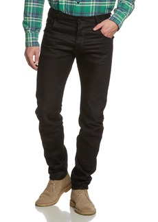 G Star Raw Denim G-Star Raw Men's Arc Zip 3D Slim Fit Jean In Hoist Black Denim   33x30
