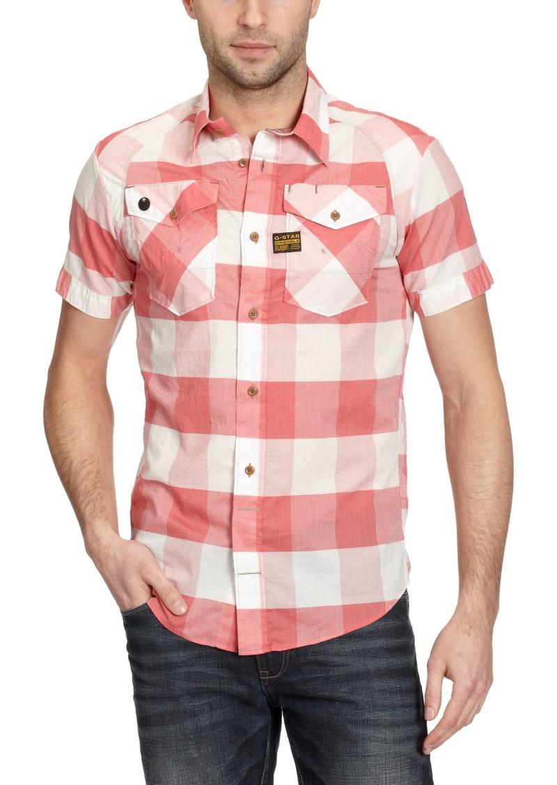 G Star Raw Denim G-Star Raw Men's Arizona Arch Shirt Sleeve Shirt