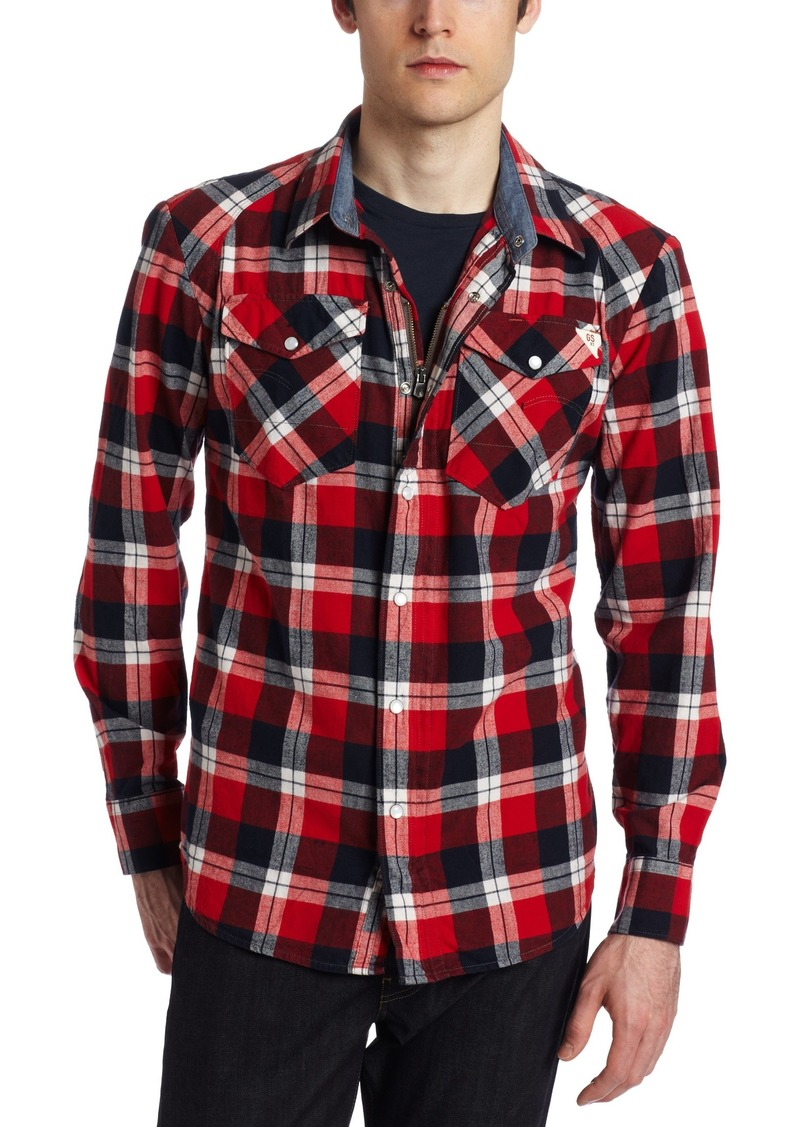 G Star Raw Denim G-Star Raw Men's Arizona Elijah Long Sleeve Shirt
