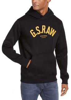 G Star Raw Denim G-Star Raw Men's Ashor Hooded Logo Sweater